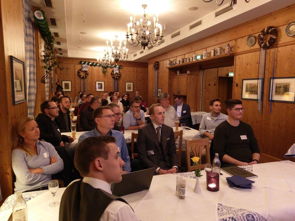 40 attendees at HUG Munich in November 2018